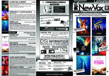 Téléchargez le nouveau programme du New Vox !!