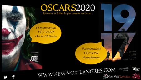 SPÉCIAL OSCARS 2020