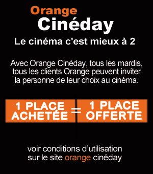 Orange Ciné-Day tous les mardis au New Vox